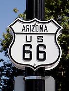 US-WILLIAMS: Sign along the famous Route 66. PHOTO: GERRIT DE HEUS
