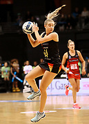 Magic goal attack Ariana Cable-Dixon during the ANZ Premiership netball match - Magic v Tactix played at Claudelands Arena, Hamilton, New Zealand on 30 July 2018.<br /> <br /> Copyright photo: &copy; Bruce Lim / www.photosport.nz