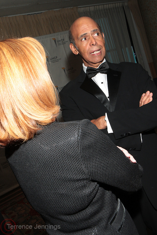 3 March 2011- New York, NY-  Dr. Michael Lomax at the UNCF ' A Mind is'  Gala held at the Marriott Marquis Hotel on March 3, 2011 in New York City. Photo Credit: Terrence Jennings
