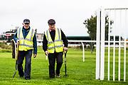 Kelso, Scottish Borders, UK. 20th September 2017. Kelso Races Twilight Meeting.