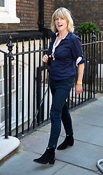 © Licensed to London News Pictures. 23/07/2019. London, UK. Rachel Johnson, sister of newly elected Conservative Party leader and next Prime Minister Boris Johnson, arrives at his temporary office in Westminster. Photo credit: Peter Macdiarmid/LNP