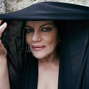 "Naples, Italy, June 12, 2016. Cristina Donadio, Italian actress. She's among the characthers of the serial ""Gomorra""."
