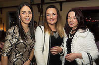 07/12/2014  Clair Hogan, Ardrahan, Leona Keady Ardrahan and Vicky Clasby Ballinderreen at The Pier Head, Kinvara for Oiche Nollaig na mban (night out for the chicks!) started out as a fun Christmas night for the ladies. Organised by Mary Moloney, Ruth sexton, Valerie Forkan, Sarah Linnane & Jackie Veale, the women quickly decided to make it a fundraiser. Being a women's night the obvious charity of choice was breast cancer awareness, the NBCRI was the chosen beneficiary.  120 participated in the chain link, all sporting a variety of pink bras! Some Christmas carols at the village tree while hanging the bras on the tree was another highlight! PHOTO:Andrew Downes