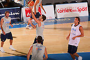 DESCRIZIONE : Bormio Raduno Collegiale Nazionale Maschile Allenamento <br /> GIOCATORE : Daniele Cinciarini <br /> SQUADRA : Nazionale Italia Uomini <br /> EVENTO : Raduno Collegiale Nazionale Maschile <br /> GARA : <br /> DATA : 22/07/2008 <br /> CATEGORIA : Tiro <br /> SPORT : Pallacanestro <br /> AUTORE : Agenzia Ciamillo-Castoria/S.Silvestri <br /> Galleria : Fip Nazionali 2008 <br /> Fotonotizia : Bormio Raduno Collegiale Nazionale Maschile Allenamento <br /> Predefinita :