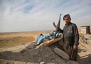 Iraq, Kurdistan, Kirkuk, kurdish peshmergas veterans on the frontline