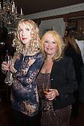 BASIA BRIGGS; EVAS HAROLD, Eva Harold birthday party. Ballroom, Beach Blanket Babylon. Notting Hill, London. 19 November 2012.