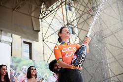 Stage winner, Marianne Vos (NED) during Stage 10 of 2019 Giro Rosa Iccrea, a 120 km road race from San Vito al Tagliamento to Udine, Italy on July 14, 2019. Photo by Sean Robinson/velofocus.com