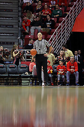 26 November 2016:  Jeff Malham during an NCAA  mens basketball game between the IUPUI Jaguars the Illinois State Redbirds in a non-conference game at Redbird Arena, Normal IL