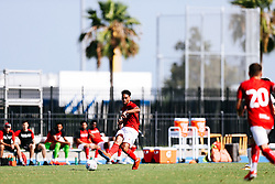 Zak Vyner of Bristol City in action during the 2nd leg of the match after the previous day's game was abandoned at half time due to extreme weather - Rogan/JMP - 14/07/2019 - IMG Academy, Bradenton - Florida, USA - Bristol City v Derby County - Pre-Season Tour Day 3.
