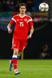 November 15, 2018 - Leipzig, Germany - Alexey Miranchuk of Russia in action during the international friendly match between Germany and Russia on November 15, 2018 at Red Bull Arena in Leipzig, Germany. (Credit Image: © Mike Kireev/NurPhoto via ZUMA Press)