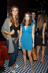 Left to right, LADY NATASHA RUFUS-ISAACS and MISS ARABELLA MUSGRAVE at a party hosted by Frankie Dettori, Marco Pierre White and Edward Taylor to celebrate the launch of Frankie's Italian Bar & Grill at 3 Yeoman's Row, London SW3 on 2nd September 2004.