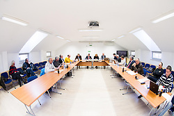 Meeting of Executive Committee of Ski Association of Slovenia (SZS) on March 10, 2014 in SZS, Ljubljana, Slovenia. Photo by Vid Ponikvar / Sportida