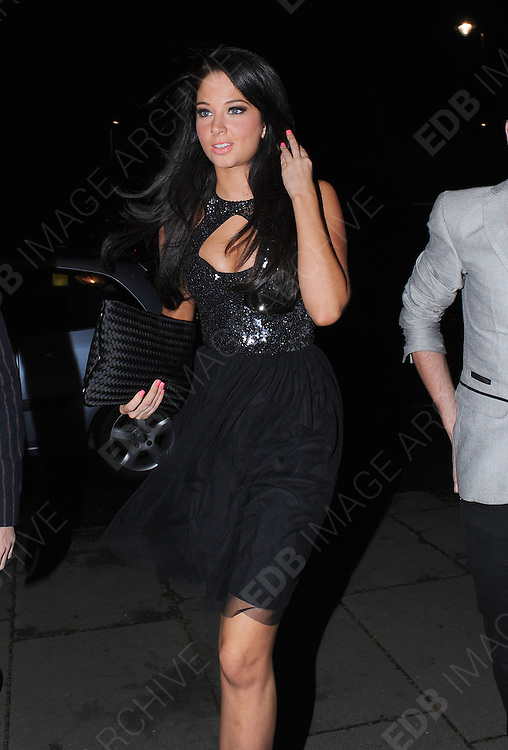 17.APRIL.2012. LONDON<br /> <br /> TULISA CONTOSTAVLOS ARRIVING AT THE JONATHAN SHALIT'S 50TH BIRTHDAY PARTY AT THE V&amp;A IN LONDON<br /> <br /> BYLINE: EDBIMAGEARCHIVE.COM<br /> <br /> *THIS IMAGE IS STRICTLY FOR UK NEWSPAPERS AND MAGAZINES ONLY*<br /> *FOR WORLD WIDE SALES AND WEB USE PLEASE CONTACT EDBIMAGEARCHIVE - 0208 954 5968*
