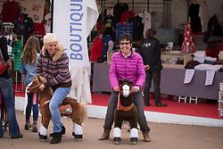 Christa De Cleene, Juliana Hendrickx (BEL)<br /> Dressage 7 years old horses<br /> Mondial du Lion - Le Lion d'Angers 2014<br /> © Dirk Caremans<br /> 17/10/14