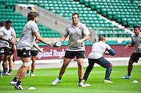 Carl HAYMAN - 01.05.2015 - Captains' Run de Toulon avant la finale - European Rugby Champions Cup -Twickenham -Londres<br /> Photo : David Winter / Icon Sport