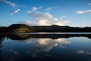Evening light at Gross Reservoir, Boulder, Colorado