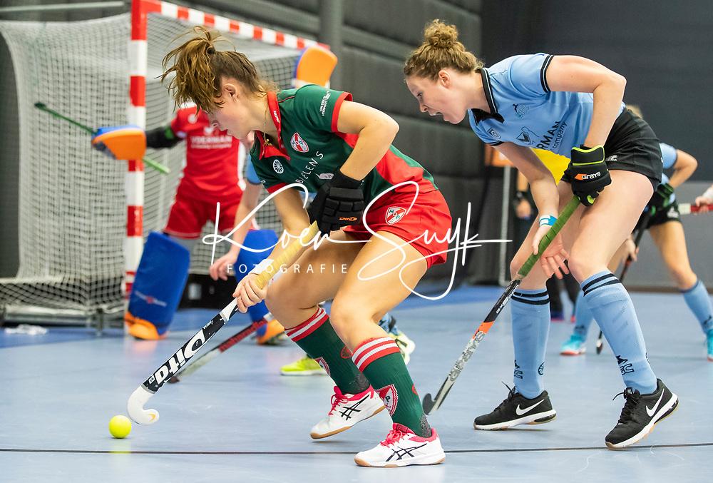 ROTTERDAM  - NK Nacompetitie Zaalhockey . . HGC-MOP.    COPYRIGHT KOEN SUYK