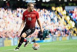 Caner Erkin of Turkey - Mandatory byline: Matt McNulty/JMP - 07966386802 - 22/05/2016 - FOOTBALL - Etihad Stadium -Manchester,England - England v Turkey - International Friendly