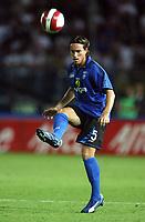 """Empoli 01/09/2007 Stadium """"Carlo Castellani"""" <br /> Empoli-Inter 0-1 Campionato Serie A 2007/2008 Matchday 2<br /> Nella foto:  Moro (Empoli)<br /> Foto Gianni Nucci Insidefoto"""