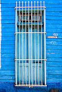 Wall and window in Cardenas, Matanzas, Cuba.