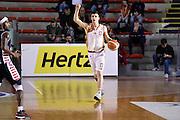 Tommaso Baldasso<br /> Unicusano Roma - Angelico Biella<br /> Campionato Basket LNP 2016/2017<br /> Roma 29/01/2017<br /> Foto Ciamillo-Castoria