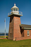 Santa Cruz Lighthouse at Lighthouse State Beach, Santa Cruz, California
