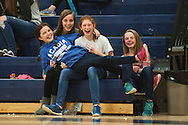 during the girls basketball game between the North Country Falcons and the Mount Mansfield Cougars at MMU high school on Monday night February 15, 2016 in Jericho. (BRIAN JENKINS/for the FREE PRESS)