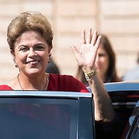 Foto Piero Cruciatti / LaPresse<br /> 11-07-2015 Milano, Italia<br /> Cronaca<br /> Visita privata della Presidente del Brasile Dilma Rousseff a Expo Milano 2015 <br /> Nella Foto: Presidente del Brasile Dilma Rousseff<br /> Photo Piero Cruciatti / LaPresse<br /> 11-07-2015 Milan, Italy<br /> News<br /> Private Visit of the President of Brasil Dilma Rousseff at Expo Milano 2015<br /> In the Photo: President of Brasil Dilma Rousseff