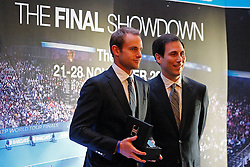 19.11.2010, Marriott County hall, London, ENG, ATP World Tour, Finals, im Bild Roddick, Andy (USA). EXPA Pictures © 2010, PhotoCredit: EXPA/ InsideFoto/ Hasan Bratic +++++ ATTENTION - FOR AUSTRIA/AUT, SLOVENIA/SLO, SERBIA/SRB an CROATIA/CRO CLIENT ONLY +++++