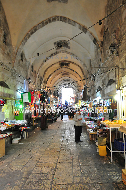 Israel, Jerusalem Old City the Arab market