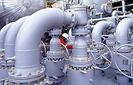 (FPSO) Floating production, storage and offloading  unit processing hydrocarbons and storing oil offshore in Angola.