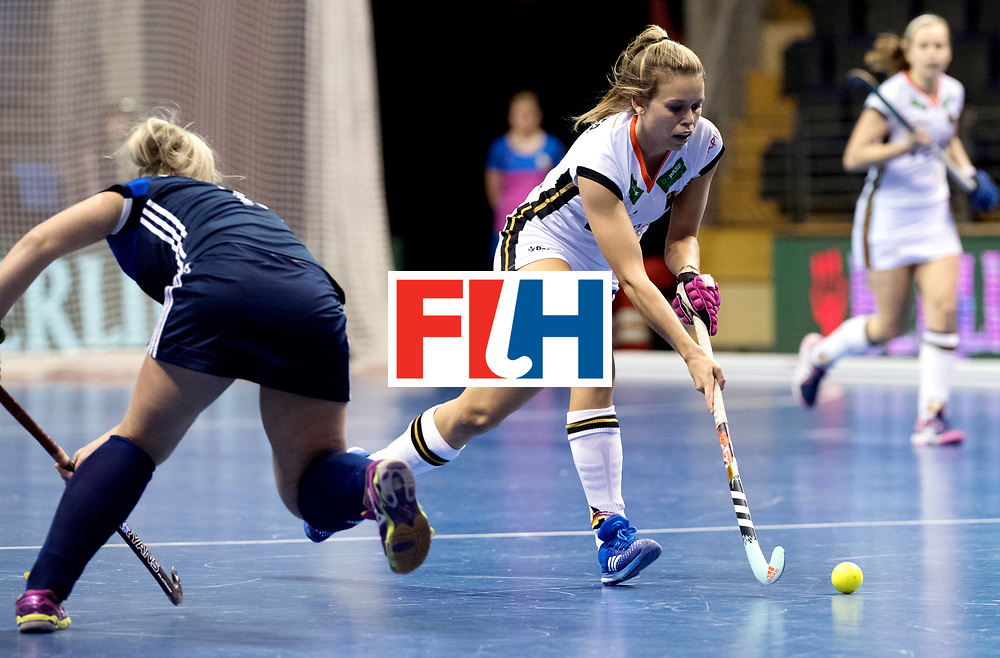 BERLIN - Indoor Hockey World Cup<br /> Women: Germany - Russia<br /> foto: Anne Schroeder.<br /> WORLDSPORTPICS COPYRIGHT FRANK UIJLENBROEK
