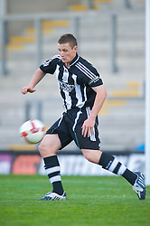 WARRINGTON, ENGLAND - Wednesday, April 29, 2009: Newcastle United's captain Darren Lough during the FA Premiership Reserves League (Northern Division) match at the Halliwell Jones Stadium. (Photo by David Rawcliffe/Propaganda)