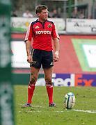 Ronan O'Gara prepares to kick a penalty. Montauban v Munster,  Heineken Cup Pool A match in Montauban, France.