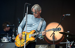 ©London News Pictures. Glastonbury Festival 2015<br /> <br /> PAUL WELLER performs on Pyramid stage on Sunday during Glastonbury Festival 2015, Worthy Farm, Pilton.<br /> <br /> Date: 28/06/2015<br /> Photographer: Artur Lesniak /LNP
