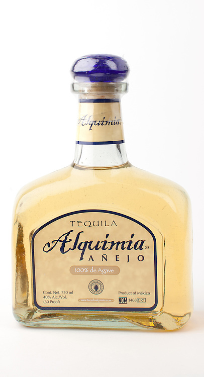 Alquimia anejo -- Image originally appeared in the Tequila Matchmaker: http://tequilamatchmaker.com