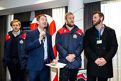 Ben Breeze Q&A with Charlie Amesbury, Jordan Crane and Luke Arscott - Rogan Thomson/JMP - 26/12/2016 - RUGBY UNION - Ashton Gate Stadium - Bristol, England - Bristol Rugby v Worcester Warriors - Aviva Premiership Boxing Day Clash.