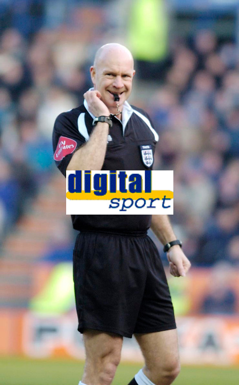 Photo: Leigh Quinnell.<br /> Leicester City v Southampton. The FA Cup. 28/01/2006.<br /> Referee Nigel Miller.