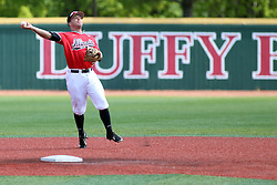 17 April 2016:  Joe Kelch during an NCAA Division I Baseball game between the Southern Illinois Salukis and the Illinois State Redbirds in Duffy Bass Field, Normal IL