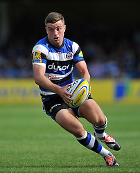 George Ford of Bath Rugby - Photo mandatory by-line: Patrick Khachfe/JMP - Mobile: 07966 386802 13/09/2014 - SPORT - RUGBY UNION - Bath - The Recreation Ground - Bath Rugby v London Welsh - Aviva Premiership