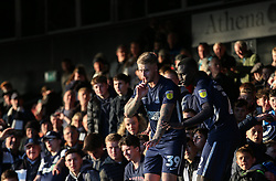 Stephen Humphrys of Southend United leads the celebrations with the fans - Mandatory by-line: Arron Gent/JMP - 04/05/2019 - FOOTBALL - Roots Hall - Southend-on-Sea, England - Southend United v Sunderland - Sky Bet League One