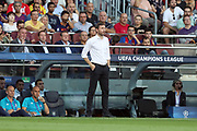 Head coach Mark Van Bommel of PSV Eindhoven during the UEFA Champions League, Group B football match between FC Barcelona and PSV Eindhoven on September 18, 2018 at Camp Nou stadium in Barcelona, Spain - Photo Manuel Blondeau / AOP Press / ProSportsImages / DPPI