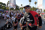 SPAIN, Barcelona, AUDI MedCup, 25th July 2010,  Camper Regatta - Conde de Godo Trophy, Prizegiving ceromony, Ray Davies,  Emirates Team New Zealand.