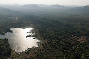 The Island from Above. near Yala National Park.