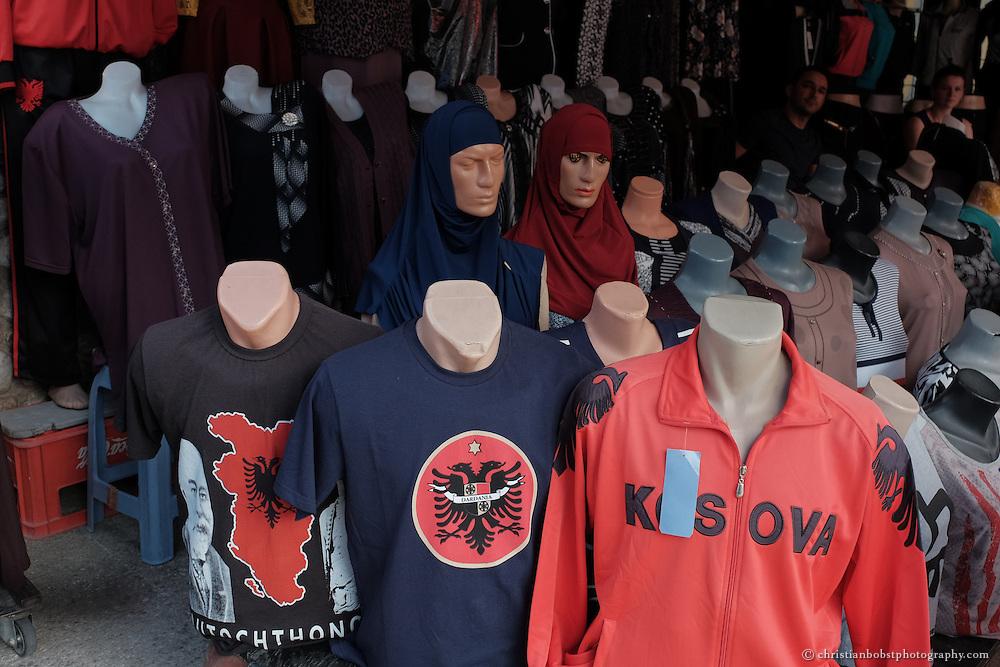 Impressionen aus der kosovarischen Stadt Peja