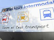 Palma bus- and train terminal.
