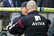 West Brom Manager Tony Pulis and Norwich Manager Alex Neil before the Barclays Premier League match at Carrow Road, Norwich<br /> Picture by Paul Chesterton/Focus Images Ltd +44 7904 640267<br /> 24/10/2015