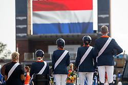 Heuitink Joyce, Den Dulk Nicole, Rixt van der Horst, Sanne Voets, Frank Hosmar, NED, <br /> World Equestrian Games - Tryon 2018<br /> © Hippo Foto - Sharon Vandeput<br /> 21/09/2018
