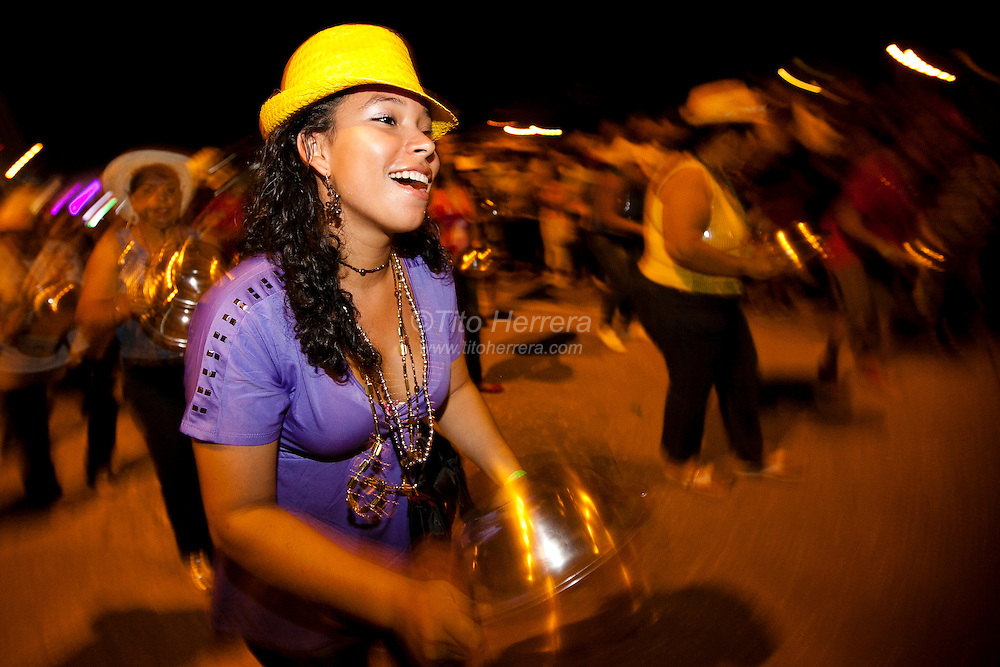 Images of the Celebration of Carnivals in Panama City, Panama. Photo by: Tito Herrera / www.titoherrera.com