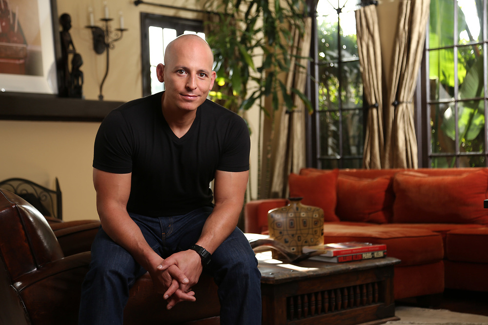 Portrait of Harley Pasternak creator of the Body Body Reset Diet photographed by Xander Photography